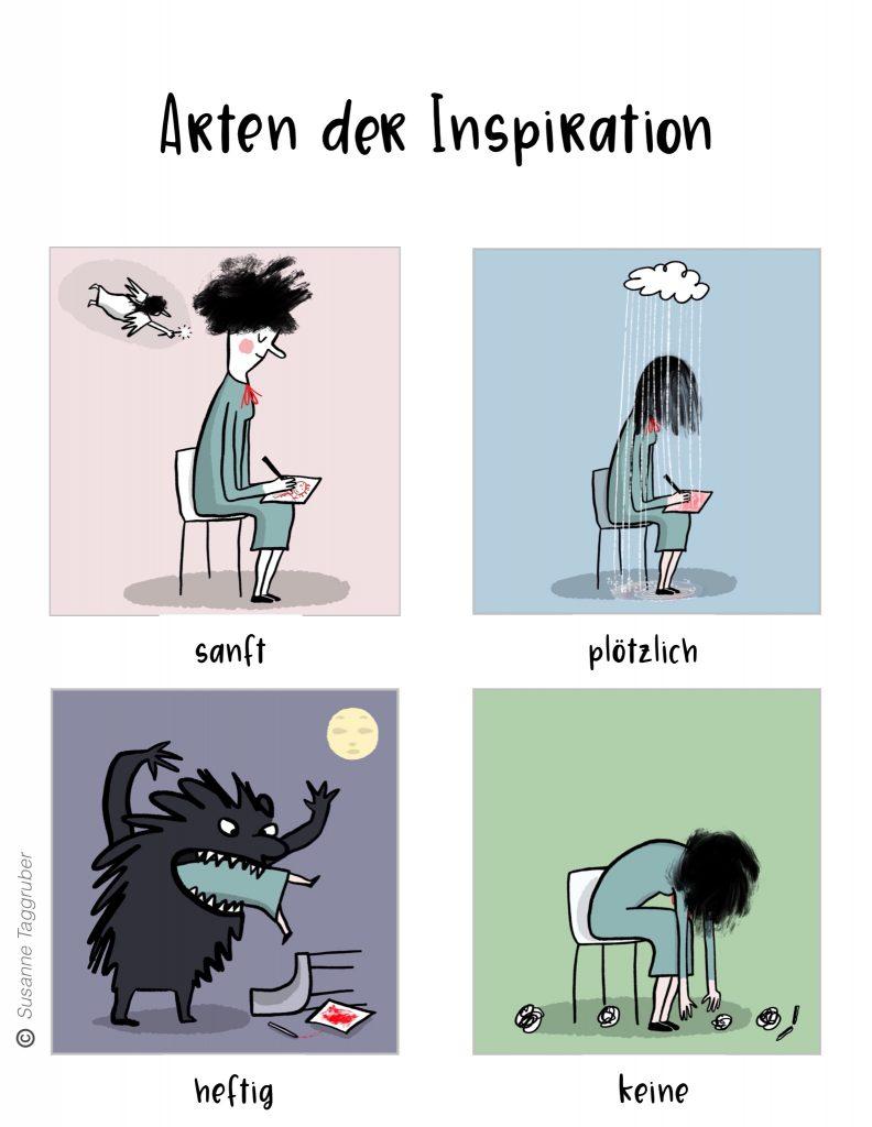 Arten der Inspiration Über mich Susanne Taggruber